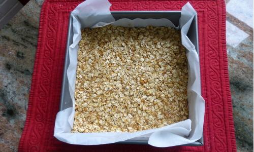pre-baked granola