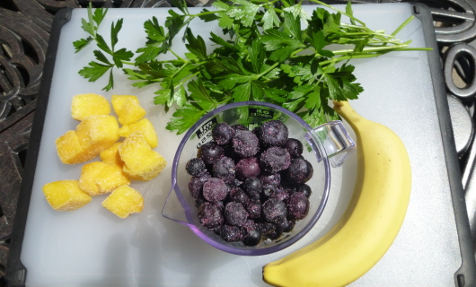 Parsley & Blueberry
