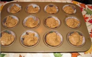 Pumpkin Applesauce Muffin Mix