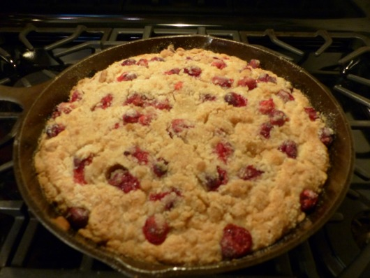 Cranberry Vanilla Buckle