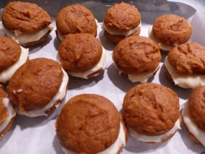 Assembled Whoopie Pies
