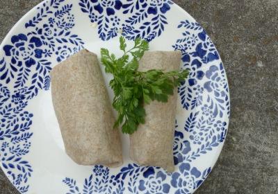 Black Beans & Rice Burritos